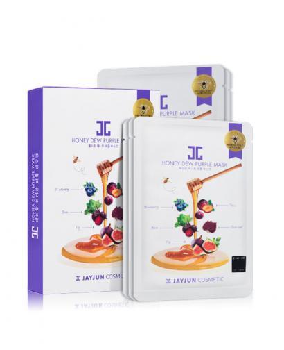 Jayjun Cosmetic Honey Dew Purple Mask 5 Masks 25 ml Each