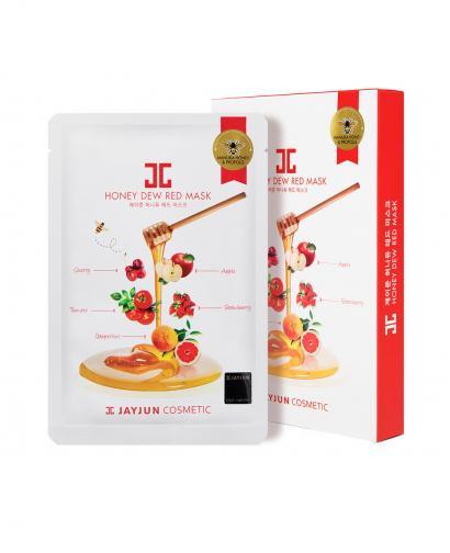 JAYJUN Honey Dew Red Mask - 1 Box of 5 Sheets