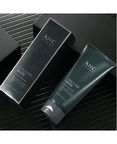 Korea AHC HOMME Only For Man Foam Cleanser 180ml