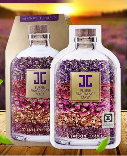 JAYJUN Purple Fragrance Mask 10 Pieces