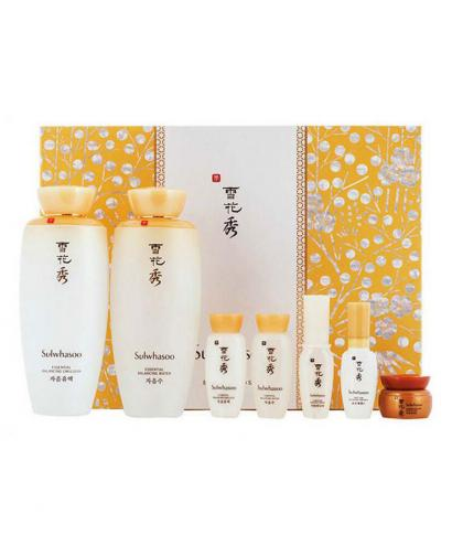 Sulwhasoo Essential Duo Set (Balancing Water125ml + Balancing Emulsion125ml) 7 Pieces