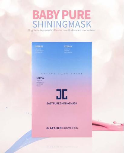 JayJun Baby Pure Shining 3 Steps Sheet Mask 25ml*10 pcs
