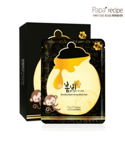 PAPA RECIPE Bombee Black Honey Facial Mask Sheet 10pcs/1box