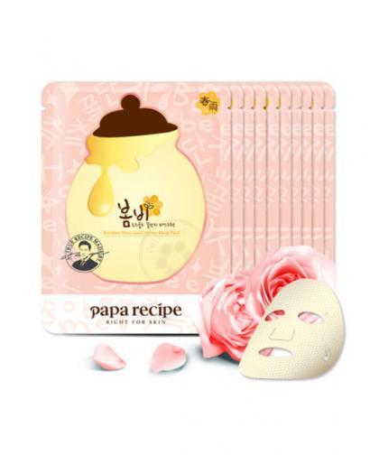 Papa Recipe Bombee Rose Gold Honey Mask 5pcs