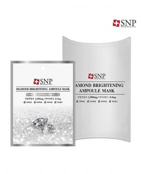 """SNP Cosmetic"" Diamond Brightening Ampoule Mask 1Box (10 Pieces)"