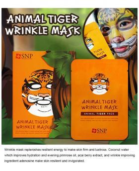 """SNP Cosmetic"" Animal Mask 10ea Box Case 4 Type"