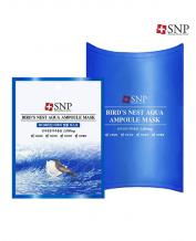 """SNP Cosmetic"" Bird's Nest Aqua Ampoule Mask 1Box (10 Pieces)"