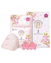 Korea A.by BOM Super Power Baby 2 Step Ultra Cool Leaf Mask- 5 Sheets
