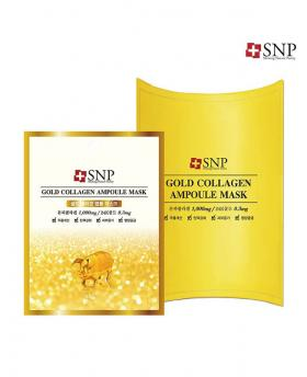 """SNP Cosmetic"" Gold Collagen Ampoule Mask 1Box (10 Pieces)"