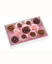 Japan Sweet Message De Rose Chocolate - レトル LE020(11 Pieces)