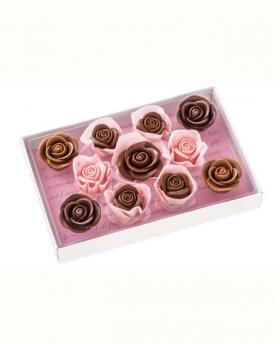 Japan Sweet Message De Rose Chocolate - レトル LE020(11 Pieces)