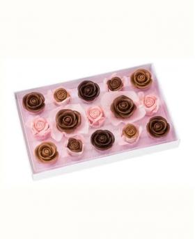 Japan Sweet Message De Rose Chocolate -  レトル・グラン LG030 (15 Pieces)