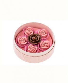 Japan Sweet Message De Rose Chocolate - ミニヨン MI015 (6 Pieces)