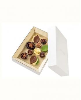 Japan Sweet Message De Rose Chocolate - コラージュデコ CL425(13 Pieces)