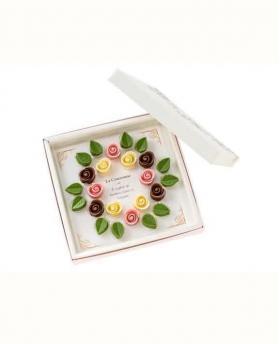 Japan Sweet Message De Rose Chocolate - クロンヌ CR018 (36 Pieces)