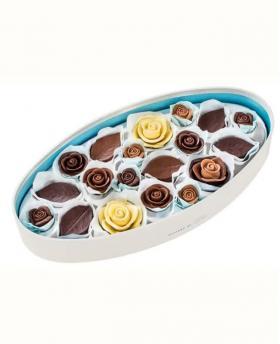 Japan Sweet Message De Rose Chocolate - コラージュ CL555 (37 Pieces)