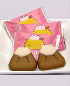 Japan Mt. Fuji Club Shizuoka Souvenir World Heritage Gift Cookie