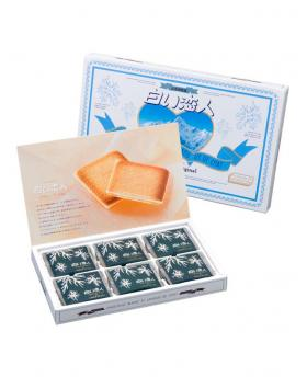 Japan ISHIYA Shiroi Koibito White Cookies 18 Pieces