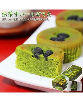 Japan Kumamoto Matcha Black Beans Konjac Cake