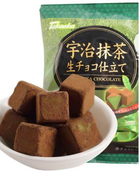 Japan Takaoka 高岡‧宇治 Matcha Nama Raw Chocolate 98g