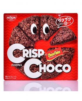 Japan Nissin CRISP CHOCO Chocolate Flakes Cookies 51g