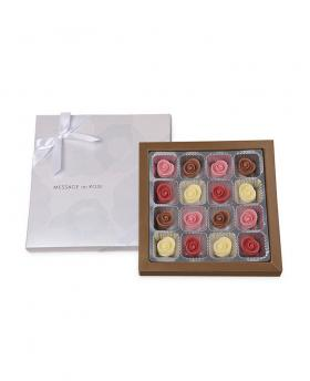 [Limited Edition] Japan Sweet Message De Rose Chocolate フルレット (16 Pieces)