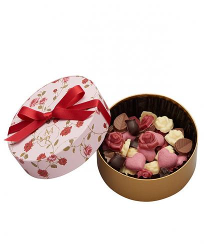 [Limited Edition] Japan Sweet Message De Rose Chocolate ミニローズ・ベリー (13 Pieces)