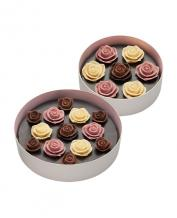 Japan Sweet Message De Rose Chocolate ソニア・ル・ブーケ LrMr 2段 (20 Pieces 2 Tiers)
