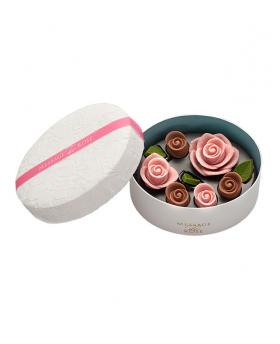 No.2 Japan Sweet Message De Rose Chocolate ロズレ ロゼ (6 Pieces)
