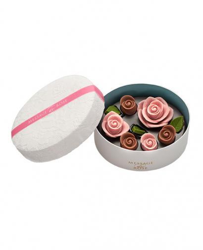 No.2 Japan Sweet Message De Rose Chocolate ロズレ ロゼ (6 Pieces)