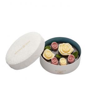 Japan Sweet Message De Rose Chocolate ロズレ ブラン (6 Pieces)