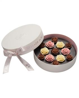 No.5 Japan Sweet Message De Rose Chocolate ソニア・ル・ブーケ L (13 Pieces)