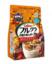 Calbee Limited Edition Autumn Maple/ Mango Cocoanut Granola 350g