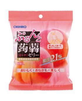 Japan ORIHIRO Mannan Konjac Jelly 120g (6pcs)