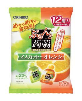 Japan ORIHIRO Mannan Konjac Jelly 240g (12pcs)