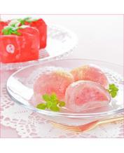 Japan Fuubian Crystal Strawberry Daifukumochi