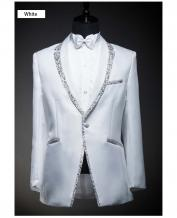 Men's Special Design Collar Black Wedding Dress Tuxedo (Include Pants)