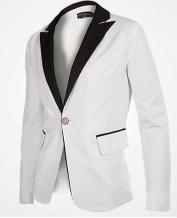 Men's Business Slim Tuxedo Dress Blazer (Only Blazer)
