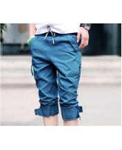 Korean Slim Fashion Casual Capri Pants