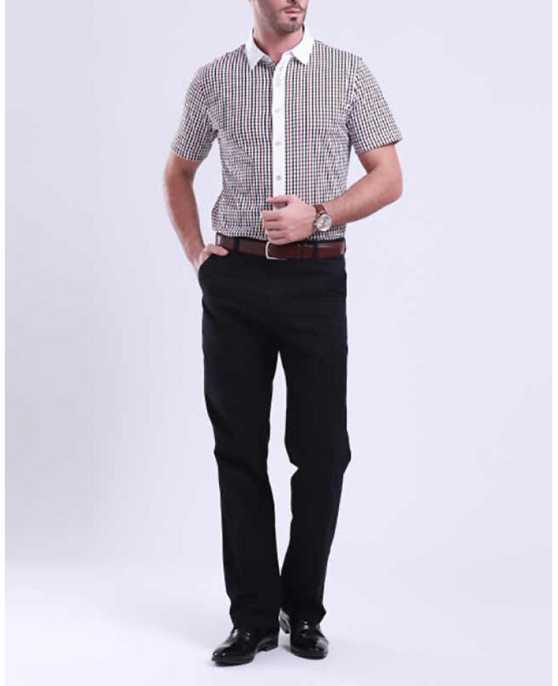 fashion asian mens business casual slim pants wegee
