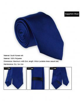 Asian Fashion Men's Slim Narrow Tie