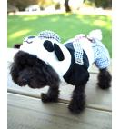 Cute Dog Panda Jacket