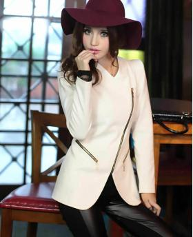 WOMEN'S EUROPEAN AND AMERICAN STYLE SLIM BLAZER