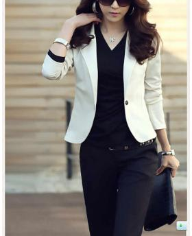 Women Clothes Slim Short Blazer, Short Outfit