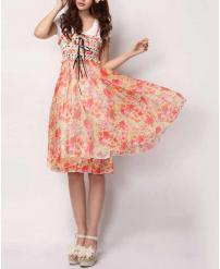 Fashion Women's Bohemian Floral Dress
