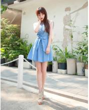 Fashion Lovely Princess Style Denim Dress