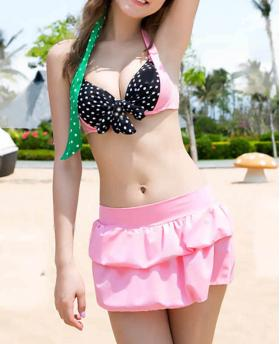 NEW FASHION THREE-PIECE BIKINI SWIMWEAR