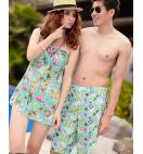 KOREAN COUPLE SWIMSUIT - WOMEN 3 PIECES SUIT