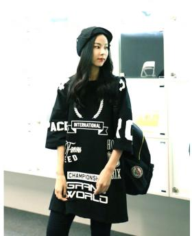 Korean Fashion Long Style Loose T-Shirt