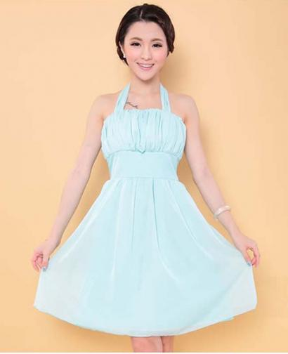 New Style Braces Skirt Bride and Bridesmaid Dress